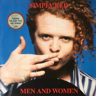 Simply Red ‎- Men And Women (LP) (VG+/VG+)